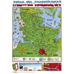 Postkarte: Hedwig Holzbein DIN A6